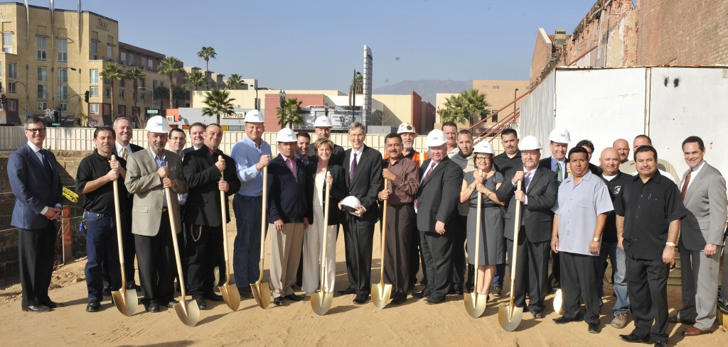 Groundbreaking Ceremony at Playhouse Plaza in Pasadena, CA